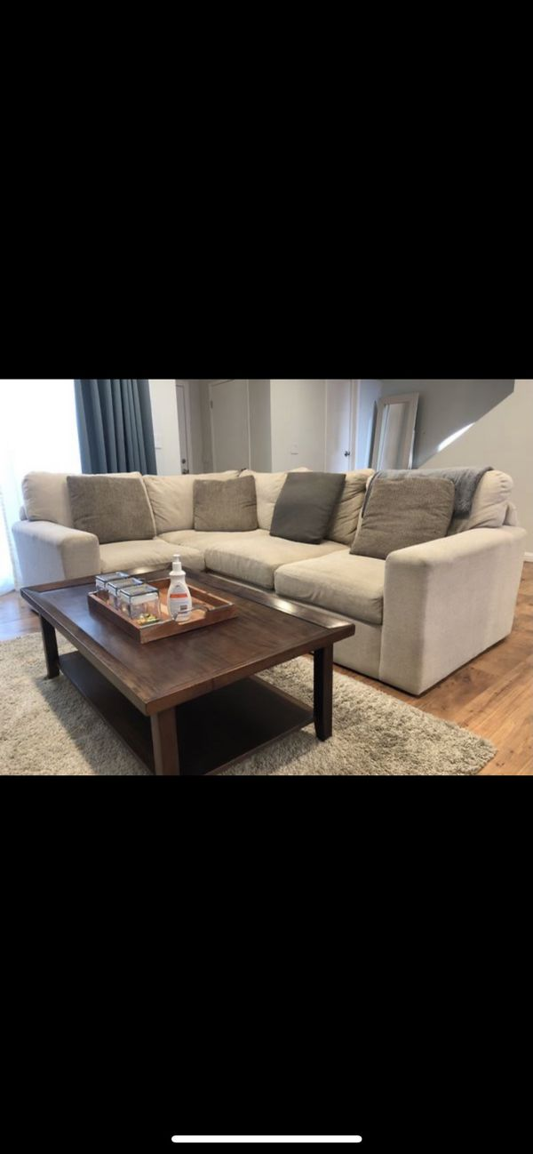 High End Comfy Couch Sectional