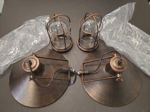 Lamps Rustic Industrial Kitchen lamps set for Sale in Valrico, FL