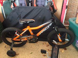 Orange Bike with Training Wheels for Sale in Grosse Pointe Farms, MI