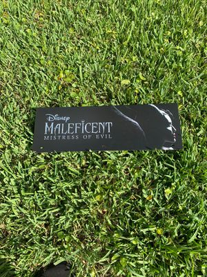 Maleficent banner for Sale in Boca Raton, FL