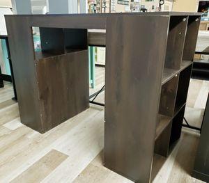 NEW 12 Cube Standing Craft Desk: Espresso for Sale in Burlington, NJ