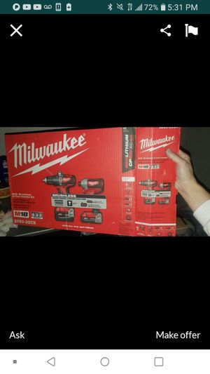 MILWAUKEE 2893-22 NEW NUEVO 3RD GENERATION💥👌💥👌💥👌 for Sale in Torrance, CA