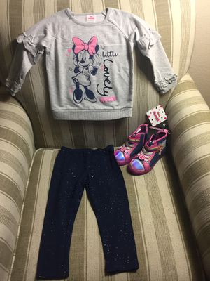 Kids girl for 3 age clothes and shoes new with tag for Sale in Milpitas, CA