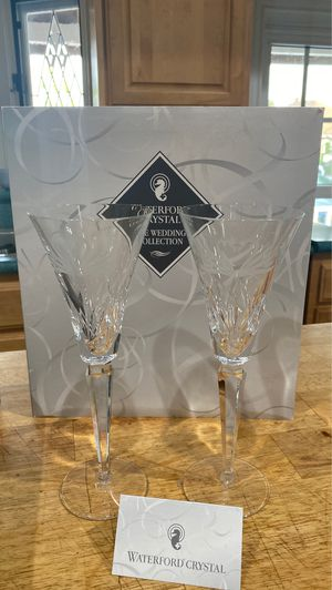 Waterford crystal wedding glasses. The wedding collection for Sale in Long Beach, CA