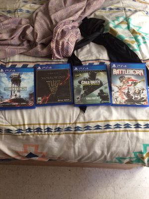 PS4 Game bundle for Sale in Washington, DC