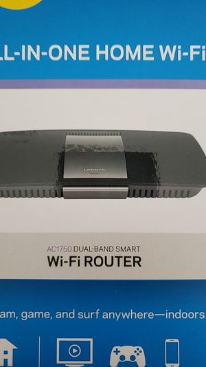 Linksys AC1750 Dual-Band Smart Router for Sale in Pompano Beach, FL