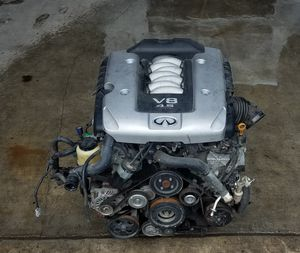 2008 2009 2010 INFINITI M45 RWD ENGINE ASSEMBLY 165749 MILES 4.5L for Sale in Fort Lauderdale, FL