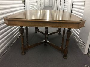 Antique Dining Table and Chairs for Sale in Chicago, IL
