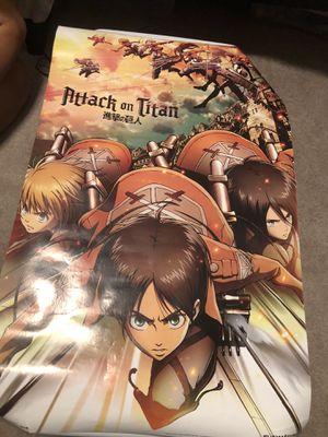 Attack on titan poster FREE for Sale in Orlando, FL