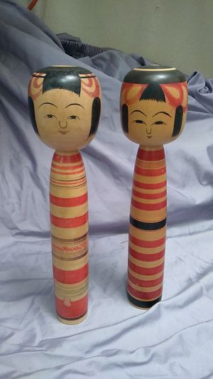 Kokeshi Doll Japanese Vintage Antique Takayu system for Sale in Santa Clara, CA