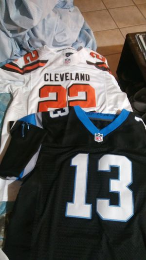 authentic football jerseys. all 4 for 150 for Sale in Bridgeport, CT