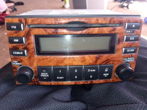 KIA HYUNDAI OEM RADIO SINGLE CD PLAYER for Sale in Montclair, CA