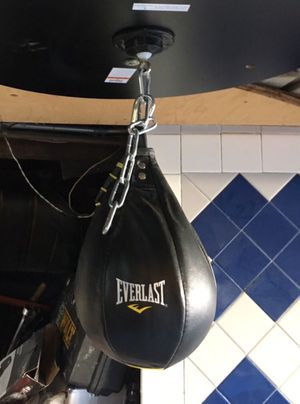 EverLast Speed Bag $20.00 bucks firm used a few times selling for Cheap for Sale in San Francisco, CA