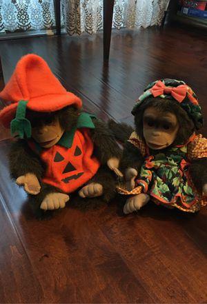 Toy Monkeys - stuffed animals for Sale in Laguna Niguel, CA