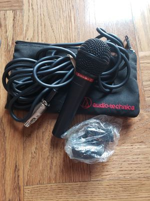 Microphone and 100 foot cord by audio Technica for Sale in Knoxville, TN