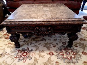 Marble top living room table for Sale in Mechanicsville, VA