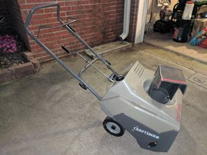 Craftsman Snow Thrower/Blower for Sale in Lake Ridge, VA