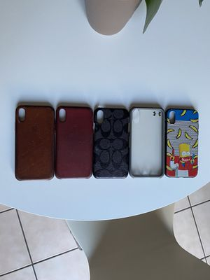 Case iPhone X (5) for Sale in Wildomar, CA