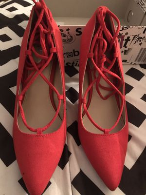 Red Heels size 7.5 for Sale in Milwaukee, WI
