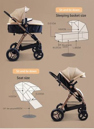 Baby strollers 3in1 new for Sale in Anaheim, CA