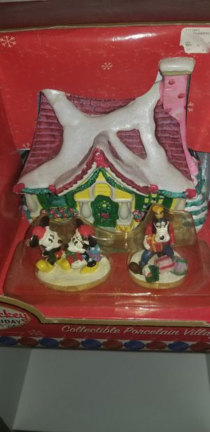 Disney mickey house figurines for Sale in Orlando, FL