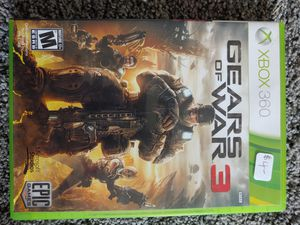 Gears Of War 3 (Xbox 360) for Sale in Bristol, PA