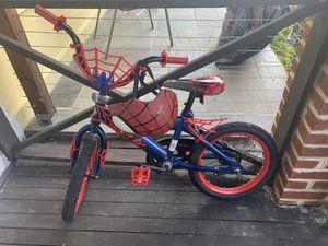 Kids Spider Man Bike & Helmet for Sale in Washington, DC