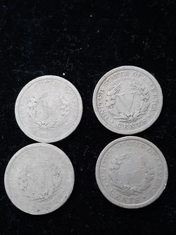 Liberty Head V nickels for Sale in Fair Oaks,  CA