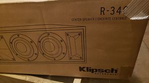*NEW* Klipsch Reference R-34C (Center) for Sale in Keizer, OR