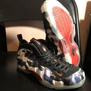 Nike Air Foamposite One Fighter Jet Size 9.5 for Sale in Burkeville, VA