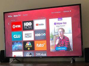 "49"" TCL Roku TV 4K for Sale in Gulf Breeze, FL"