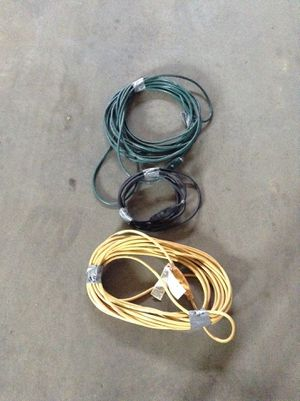 Extension cords 100% working for Sale in Sioux Falls, SD