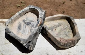 Stone Feeding Bowls for Reptiles, Rodents, or Small Mammals for Sale in Hemet, CA