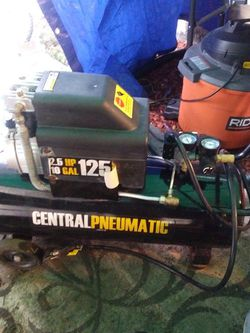 Air Compressor 10 G Central Pneumatic 125 Psi for Sale in Cashmere,  WA
