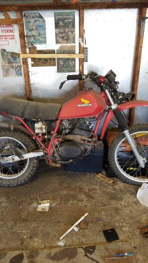 Honda 250 dirt bike. $200 firm for Sale in Romeoville, IL