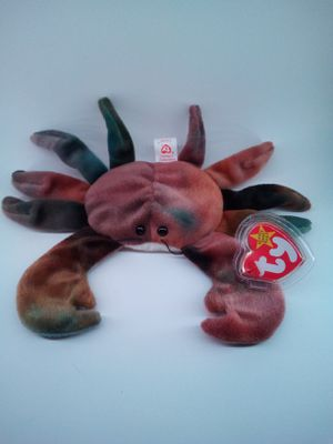 """Ultra-Rare Ty Beanie Baby """"Claude"""" with tag errors!! for Sale in LRAFB, AR"""