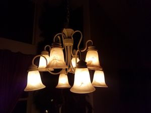 Chandelier 8 bulbs excellent condition for Sale in Las Vegas, NV