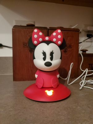 Disney Softpals Minnie Mouse- Philips LED Nightlight for Sale in Herndon, VA