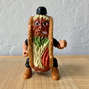 Vintage 1988 Highly Collectable Food Fighters Taco Terror With Backpack Refrigerator Rejects Action Figure Toy for Sale in Elizabethtown, PA