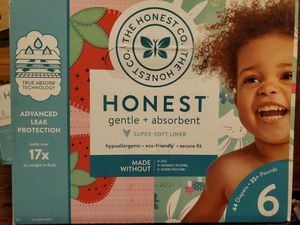 Honest diapers size 6 for Sale in LA CANADA FLT, CA