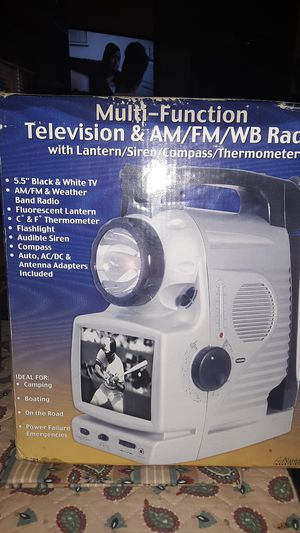 Camping tv with flashlight for Sale in Chesapeake, VA