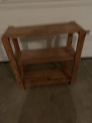 Shoe rack/ small shelf for Sale in Dayton, OR