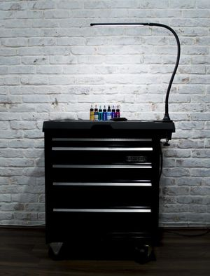 LED GOOSENECK DIMMABLE C-CLAMP TATTOO STATION/WORKLIGHT for Sale in Lakewood, CA