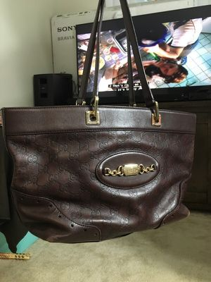 Gucci soho leather shoulder bag Authentic for Sale in Dunwoody, GA