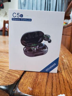 Donerton C5S Earbud(In Ear) Wireless Headphones - New Model Black for Sale in San Diego, CA