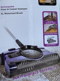 Shark® 13-Inch Rechargeable Floor and Carpet Sweeper for Sale in Plano,  TX