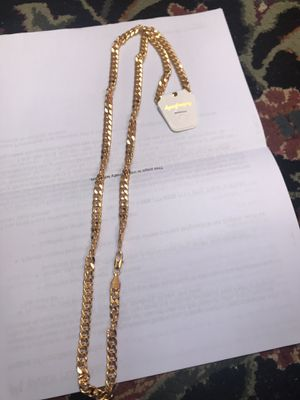 "Gold filled chain 30"" for Sale in Falls Church, VA"