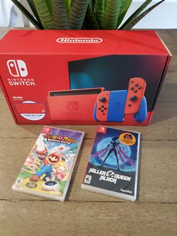 Nintendo Switch Mario Red & Blue Edition Console with Extras (New) for Sale in Orlando,  FL