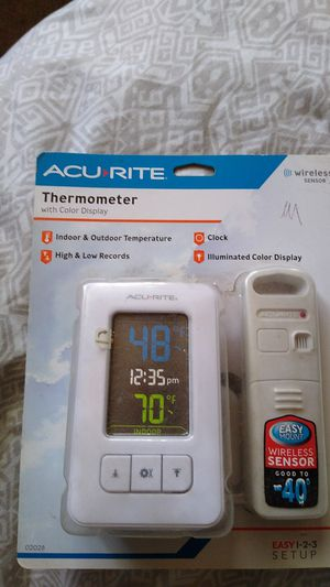 Color display thermometer for Sale in San Diego, CA