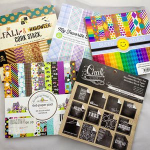 6 x 6 Halloween/Fall PaperPads for Sale in Glendale, AZ
